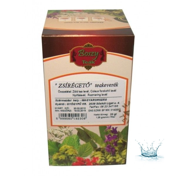 zsírégető tea)