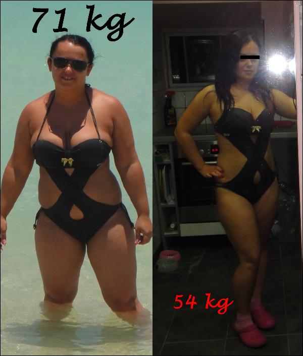 10 kg súlycsökkenés két hónap alatt)