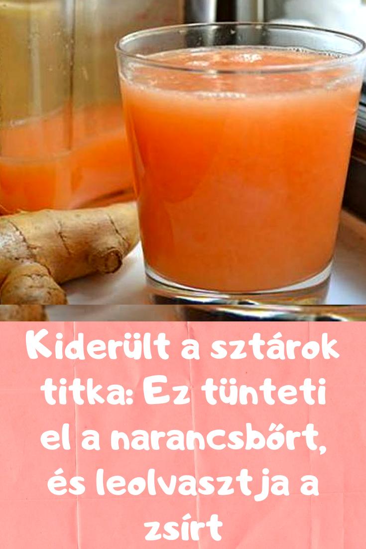 éget zsír és narancsbőr)