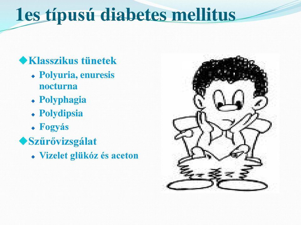 polyuria polyphagia polydipsia fogyás)