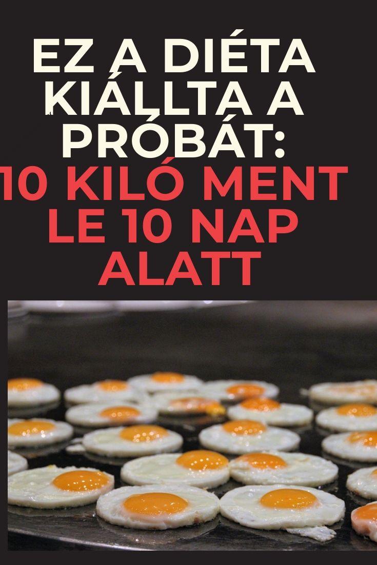 10 napos fogyókúra recept