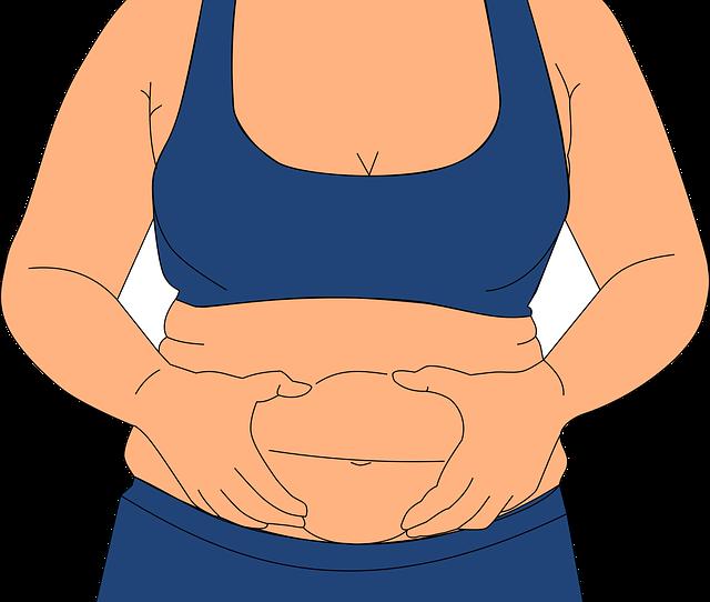 a menopauza elveszíti a hasi zsírt)