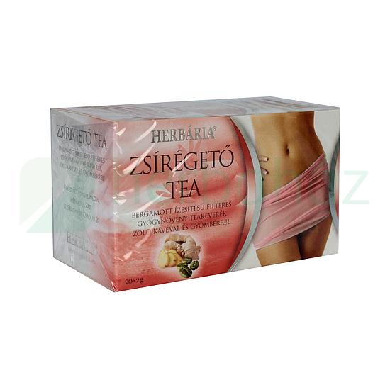 zsírégető tea