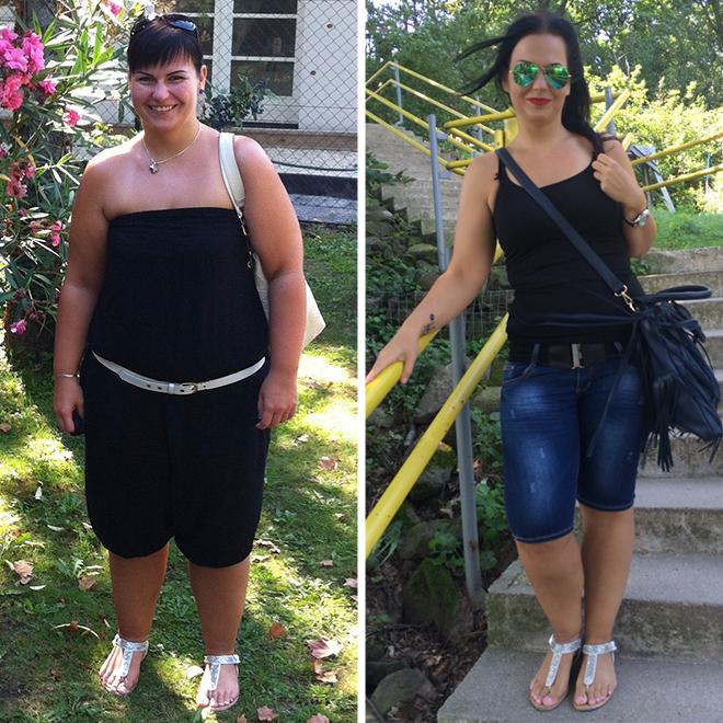 Észbontó, mennyire megváltozik az arcunk 20-30 kiló fogyás után