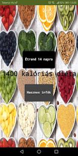 1400 kcal 160 g szénhidrát eBook