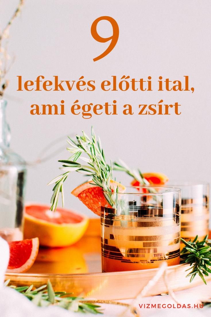 egészségügyi italok fogyáshoz)