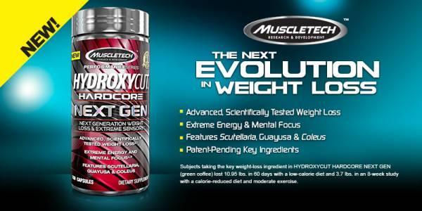 Muscletech Hydroxycat Hardcore NextGen ( kapszula)