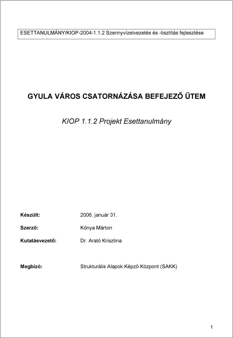 OTSZ Online - Esettanulmányok