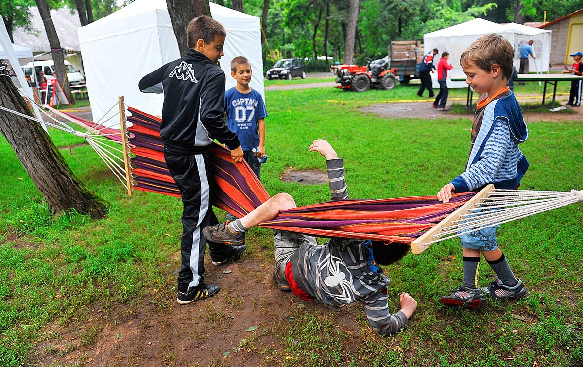gyermek fogyás tábor