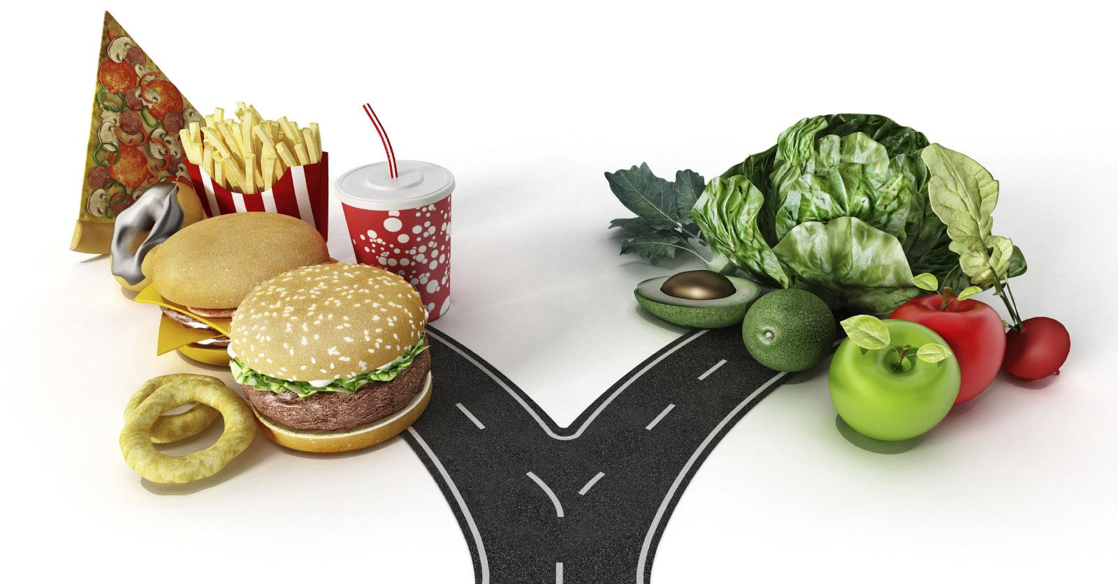 mit egészségesen enni, hogy lefogyjon