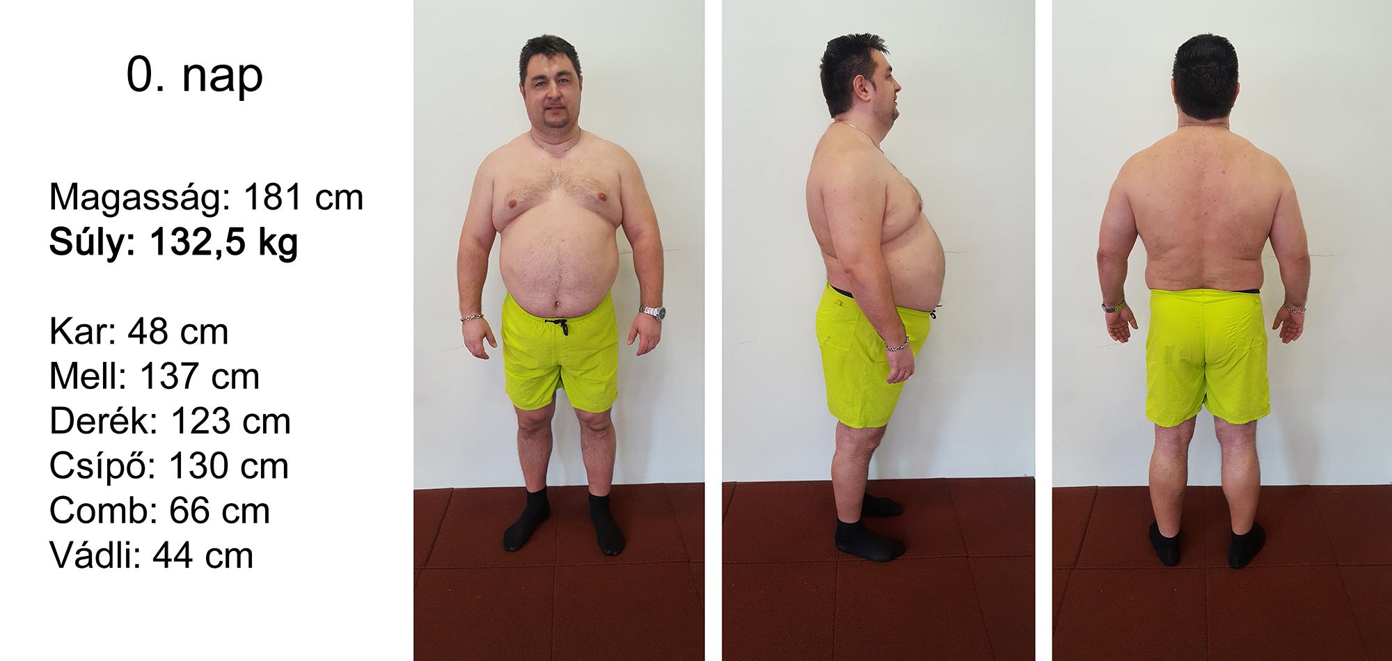 5 kg fogyás hetente