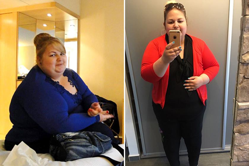 Így lett a kövér lányból bombanő az esküvőjére: 52 kg mínusz!