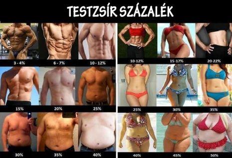 elveszíti a testzsír 7 százalékát)