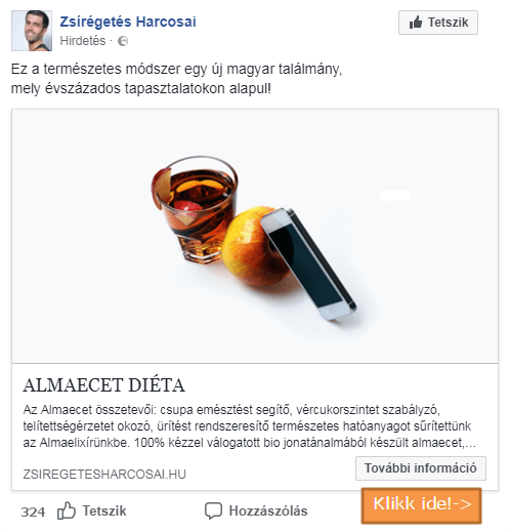 almaecet diéta zsírégetés harcosai)