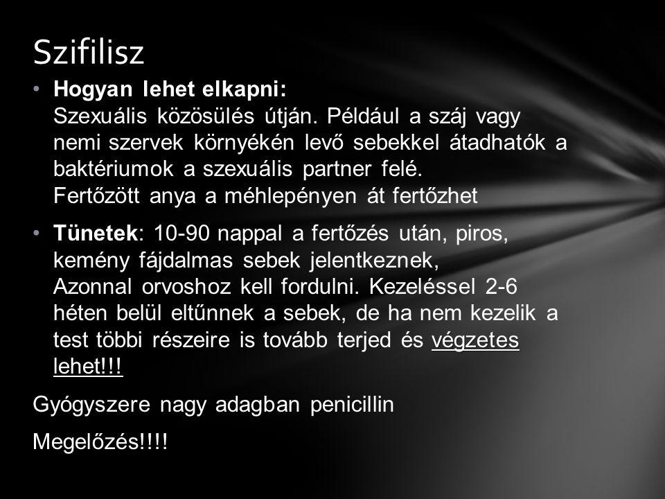 szifilisz fogyás)