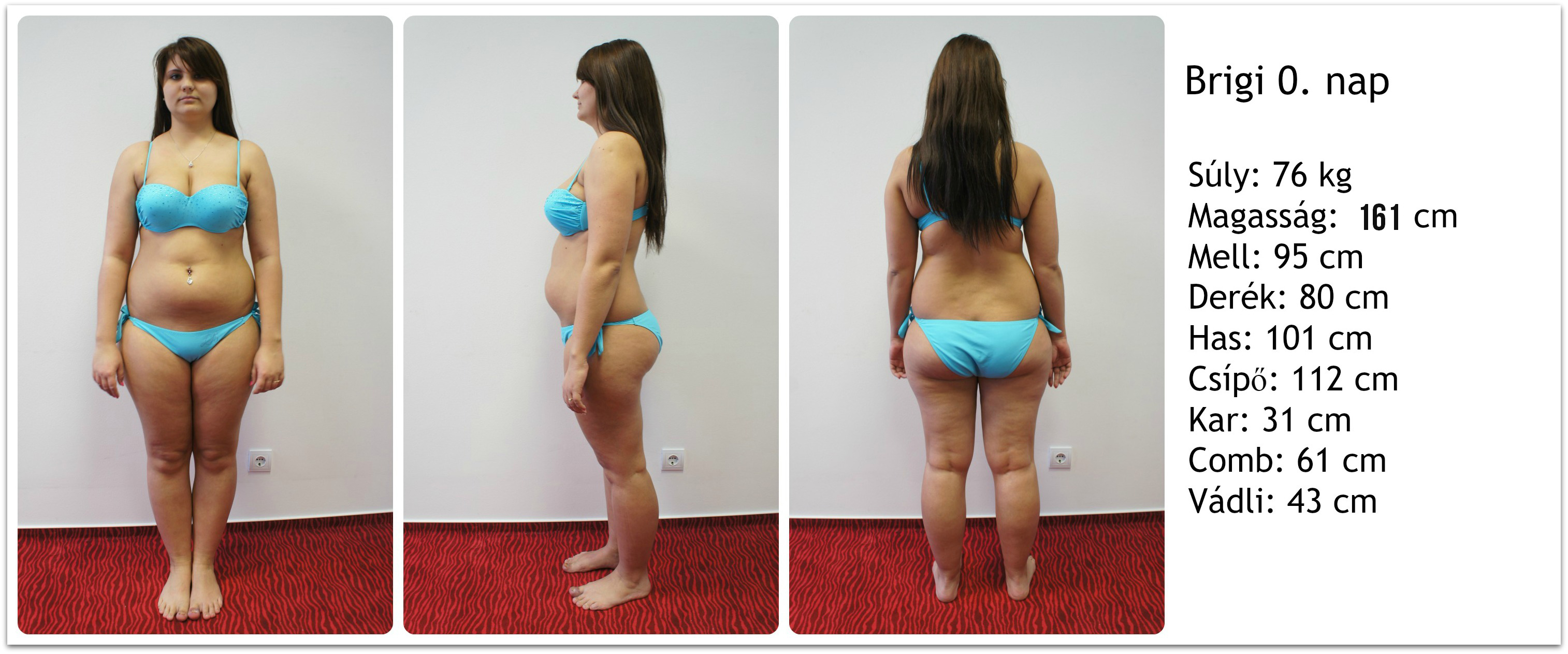 10 kg súly veszteség egy hónap alatt