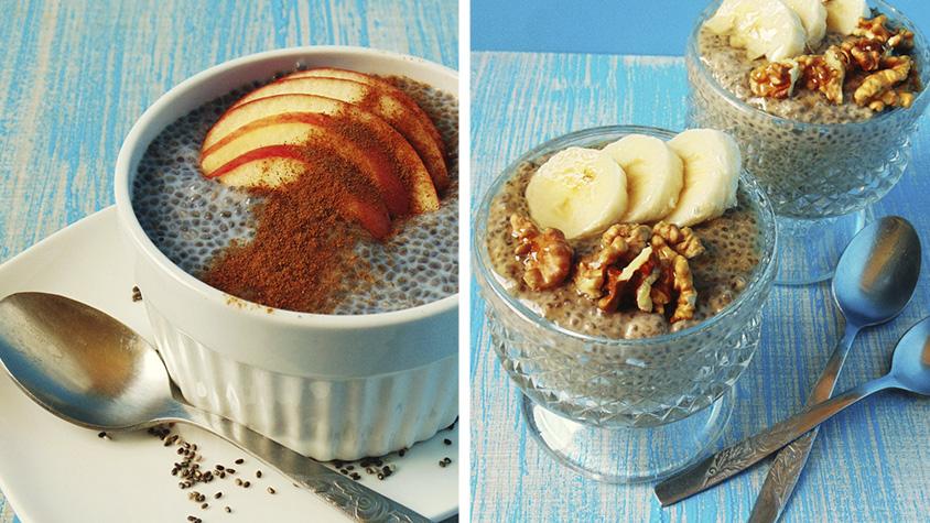 5 chia puding recept, ha egészséges reggelit szeretnél enni