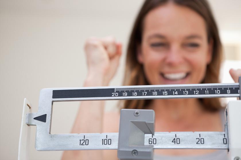 1 héten belül lefogy a legtöbb súly)