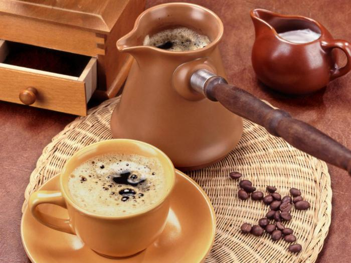 test karcsú kávé