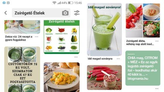 Élelmiszerek kalóriatáblázata (+ fehérje, zsír és szénhidrát értékek)