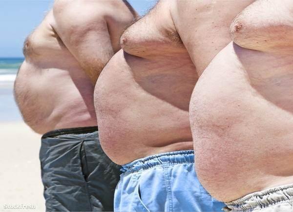 túlsúlyos férfi fogyás)