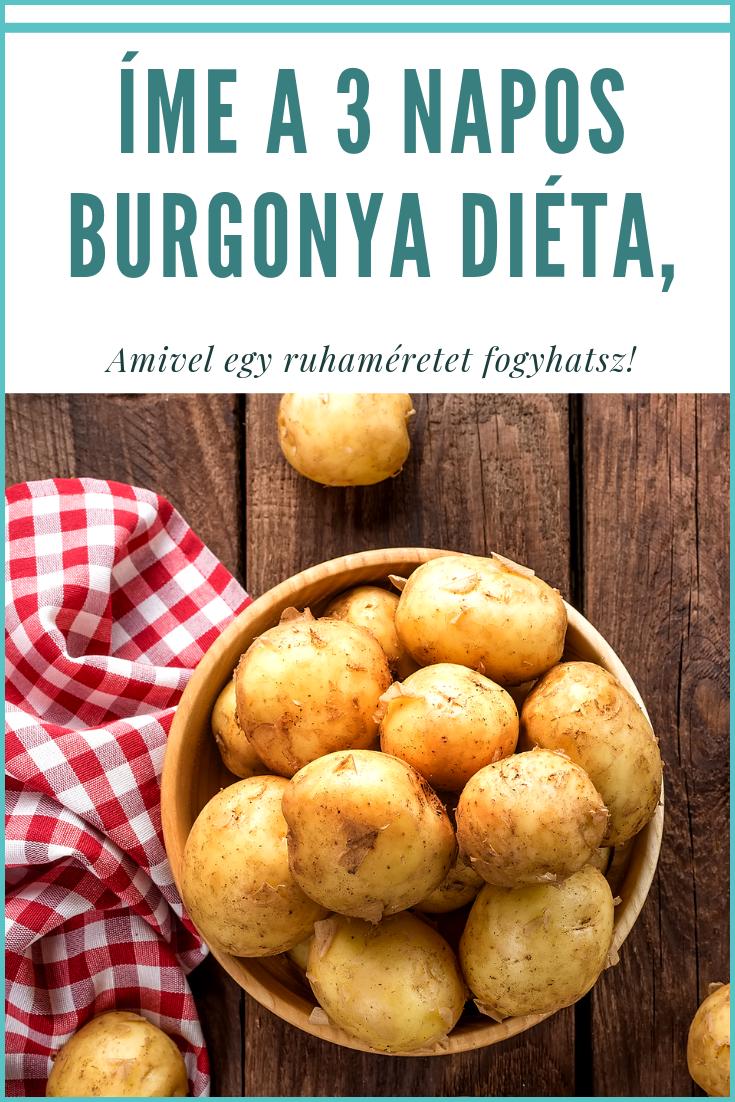 Íme a 3 napos burgonya diéta, amivel 1 ruhaméretet fogyhatsz! - Blikk Rúzs