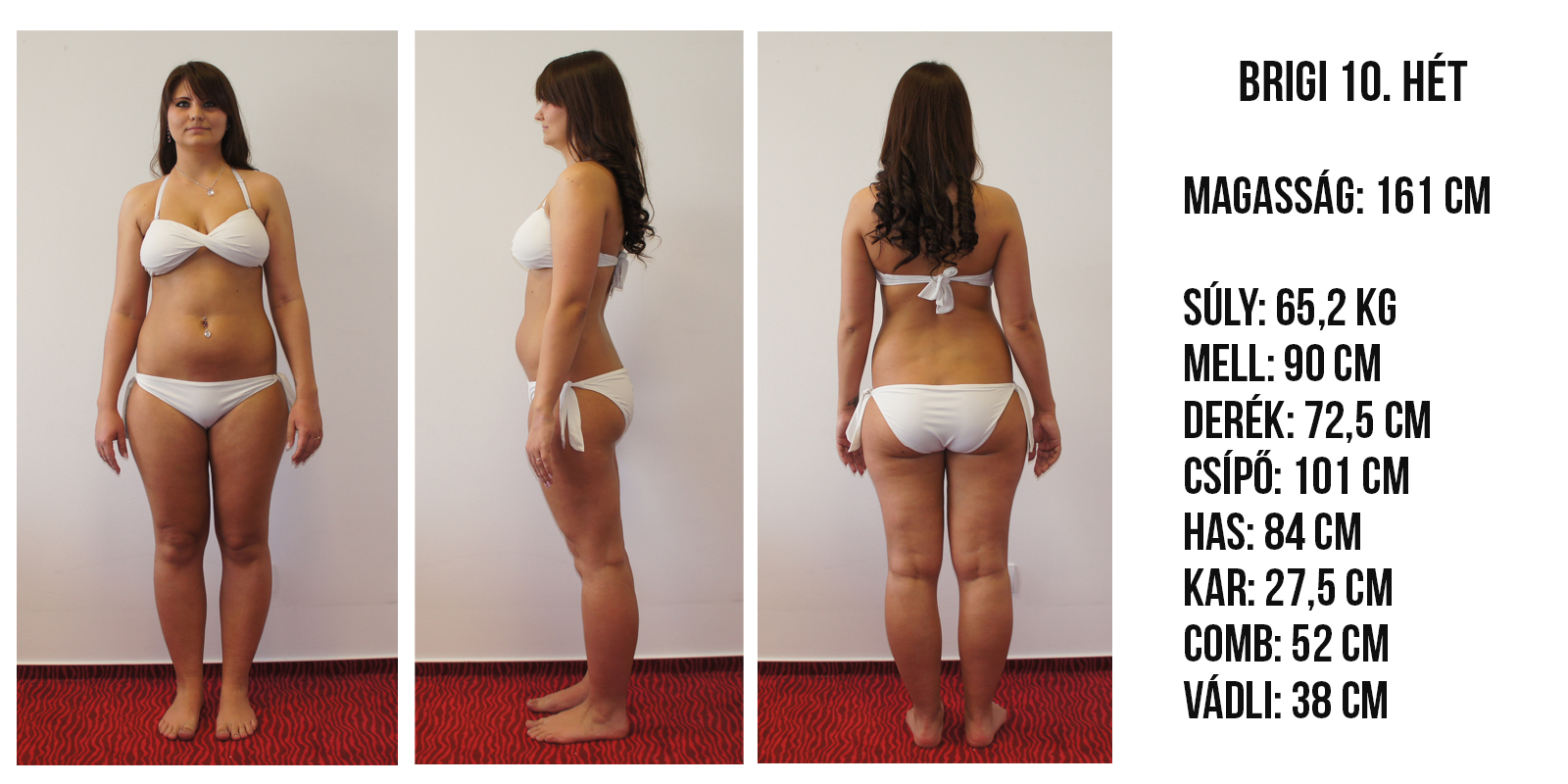 Fogyás 59 kg- os nők számára mennyi fogyás megszűnik az időszak előtt