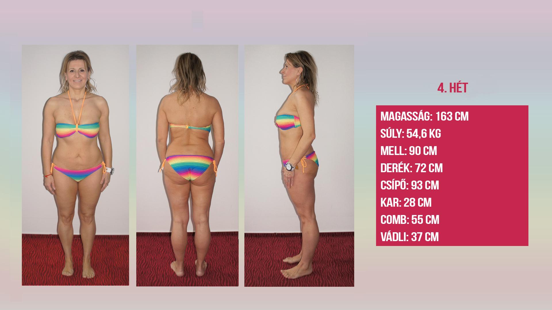 37 kg súlycsökkenés