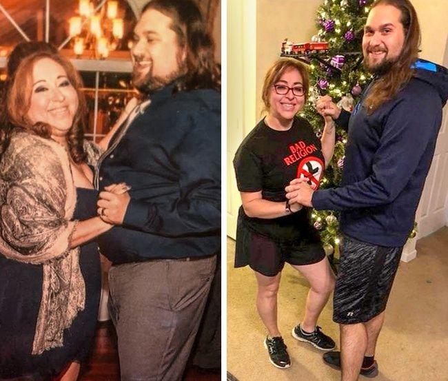 Elszörnyedt a saját fotójától a fiatal nő, ezért 40 kilót lefogyott
