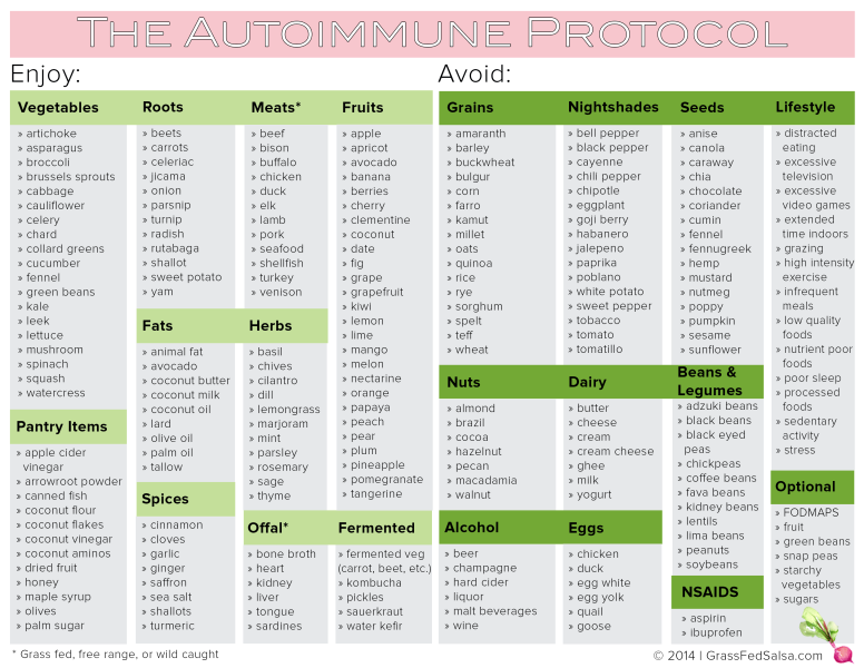 Mit jelent az autoimmun protokoll?