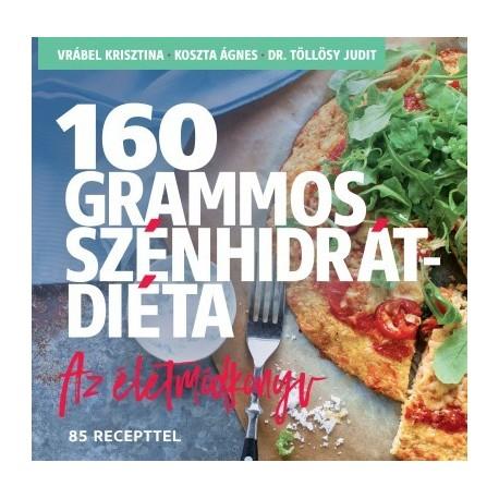 160 grammos szénhidrát diéta könyv