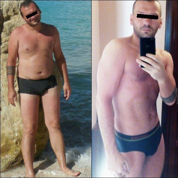 fogyás 23 éves férfi)