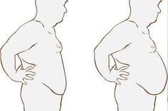 egy hét alatt elveszíti a hátsó zsírt)