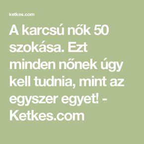 karcsú az életre)