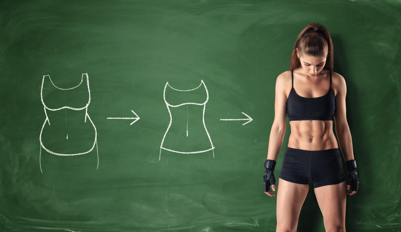 Fogyás hasról - edzéssel, fóliával vagy diétával?