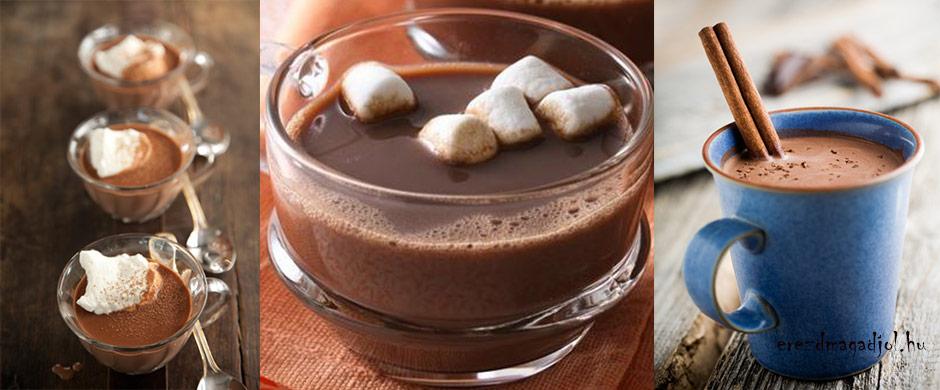 Forró csoki extrákkal | Diéta és Fitnesz