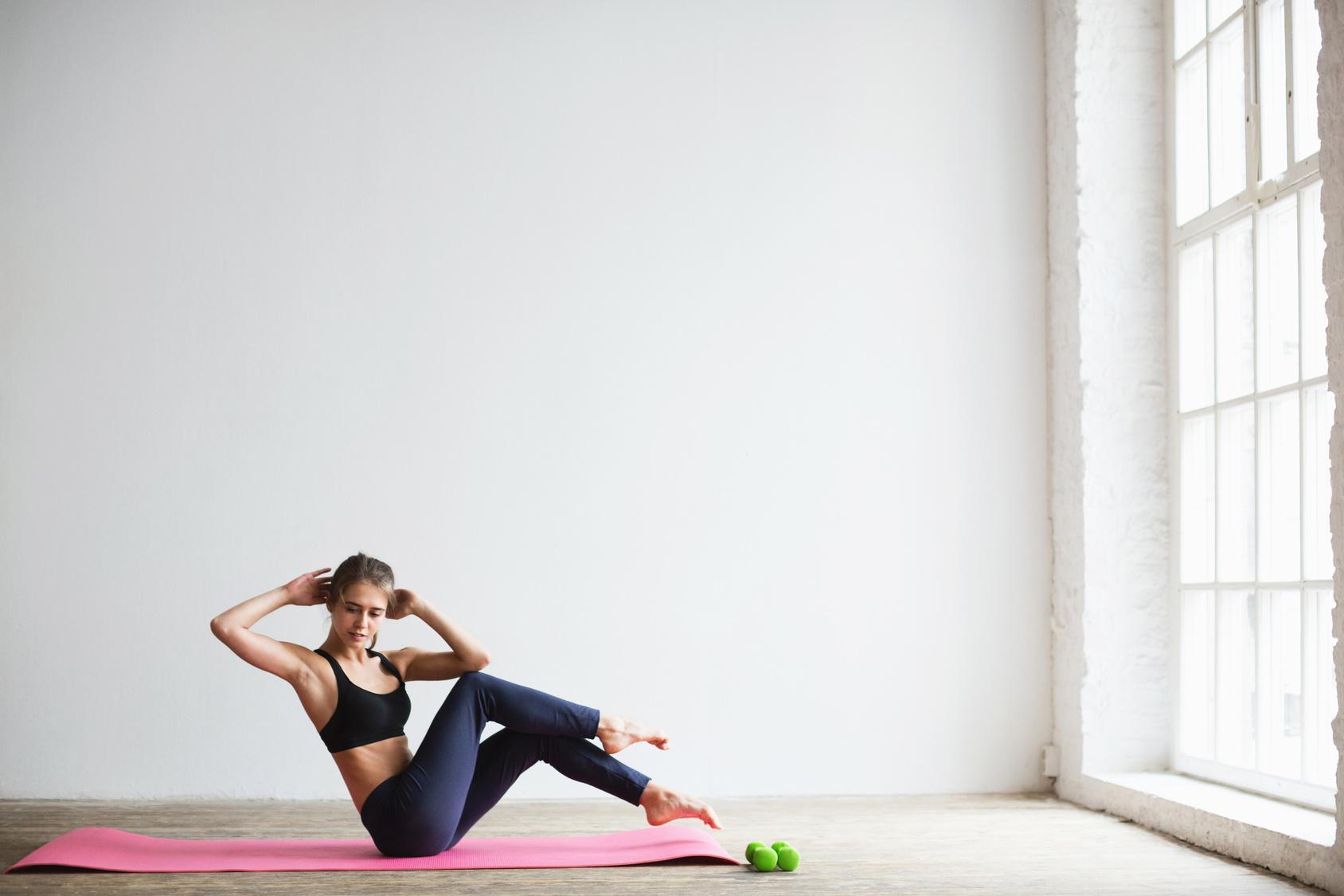 Az edzés, amely a kövér zsírt égeti