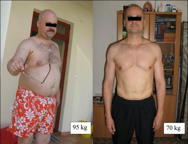 95 kg súlycsökkenés