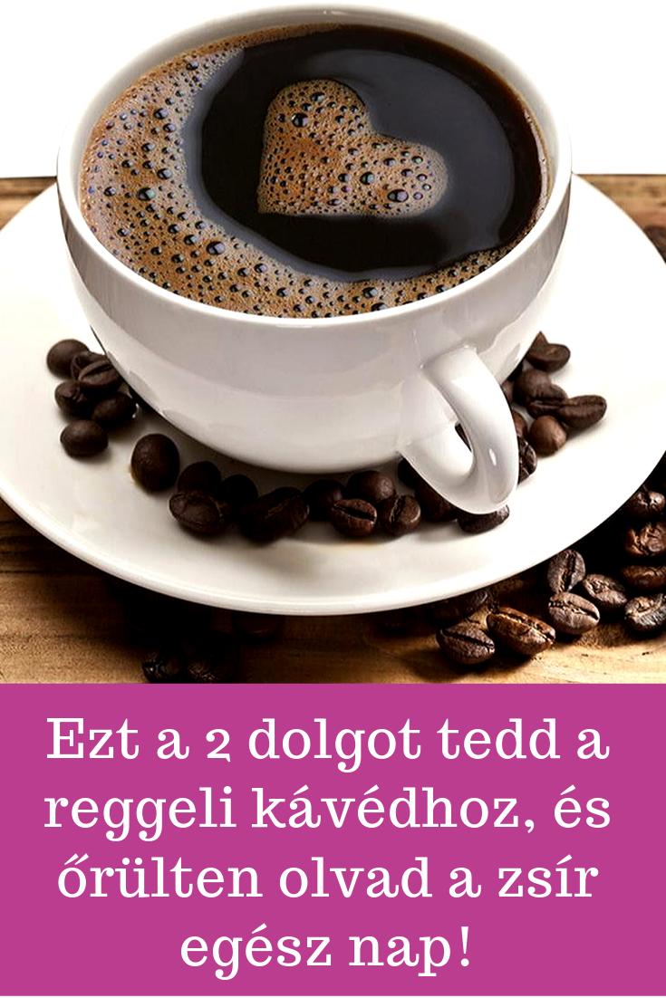 kávé, mint zsírégető)