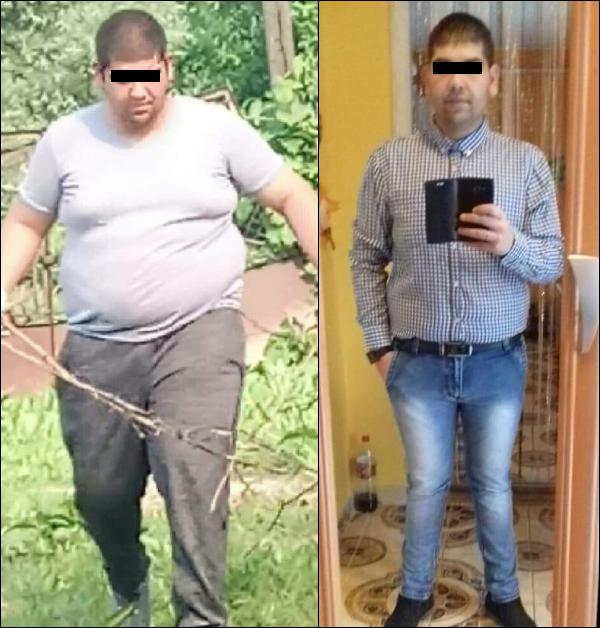 fogyás 90 kilóról)