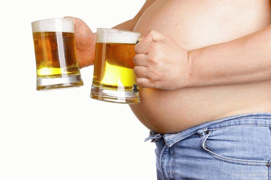 fogyni, de sört inni