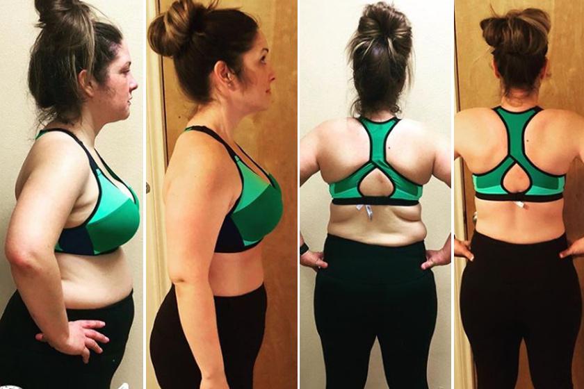 1 hónapos fogyási különbség)