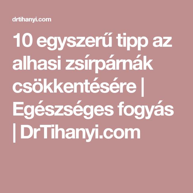 10 tipp a természetes fogyáshoz