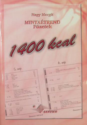 1400 kalóriás mintaétrend)