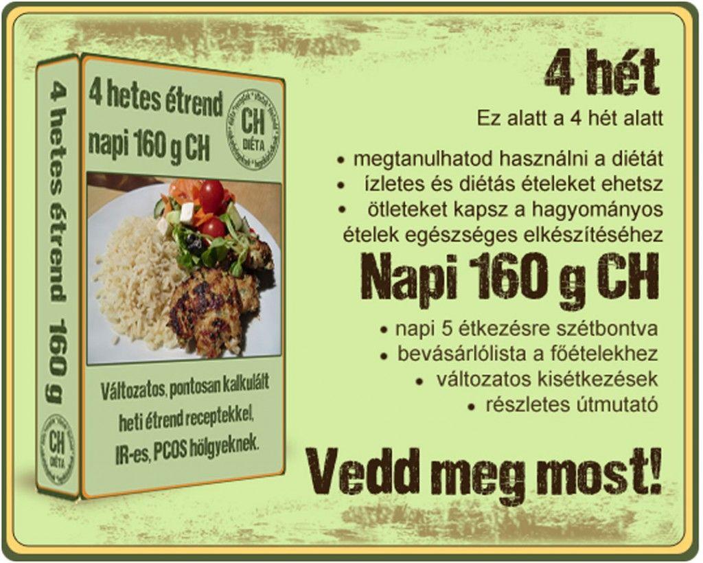 160g diéta receptek)