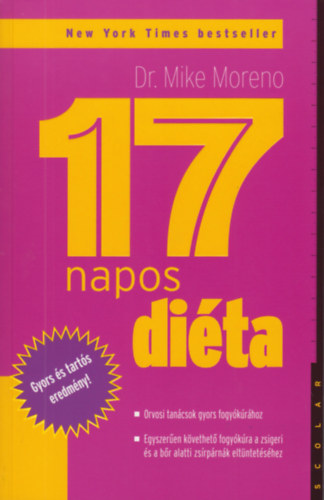 Dr. Mike Moreno: 17 napos diéta Books Magyarulem Epub Töltse le ingyen