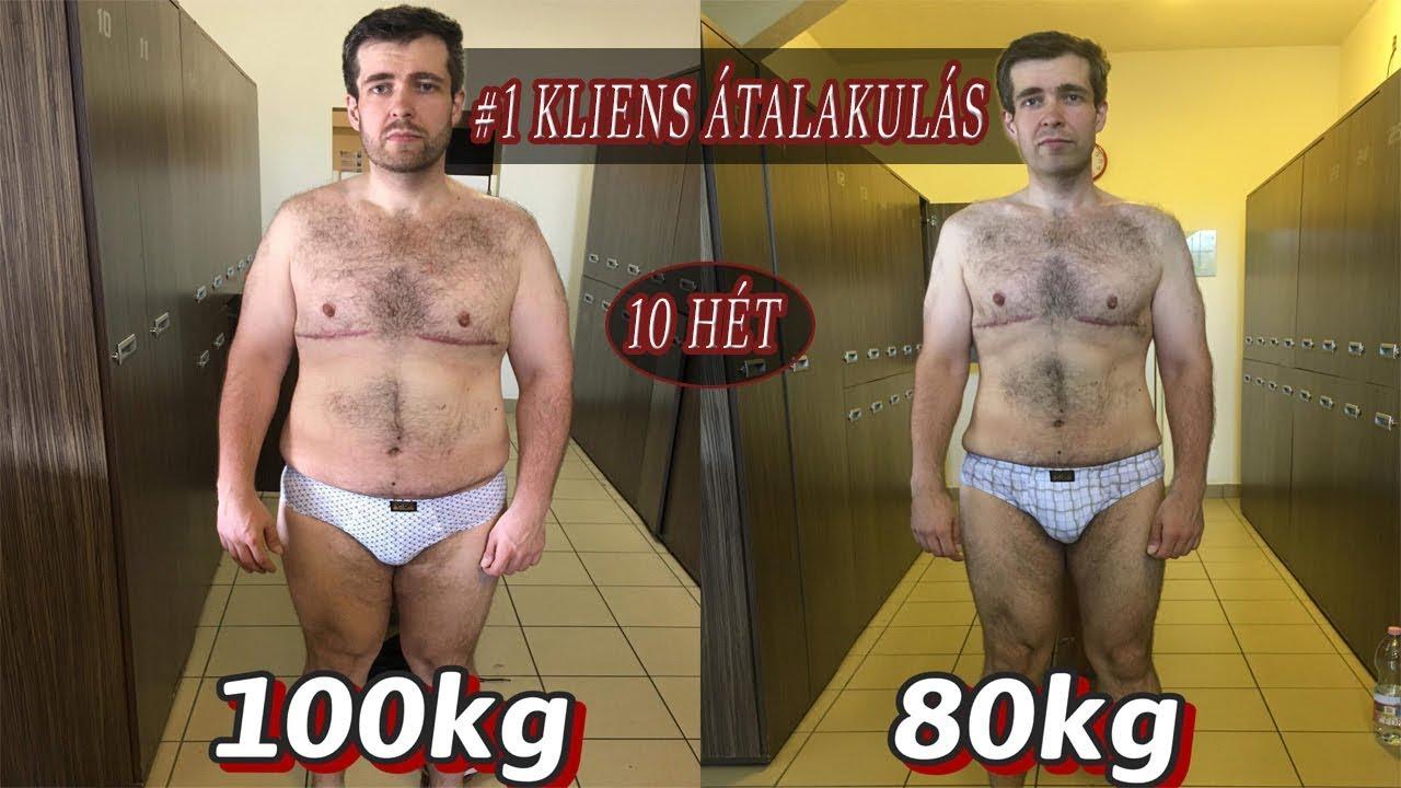 egy hét alatt 3 kg fogyás)