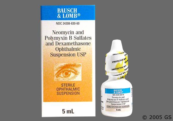 maxitrol eye drop dosage)
