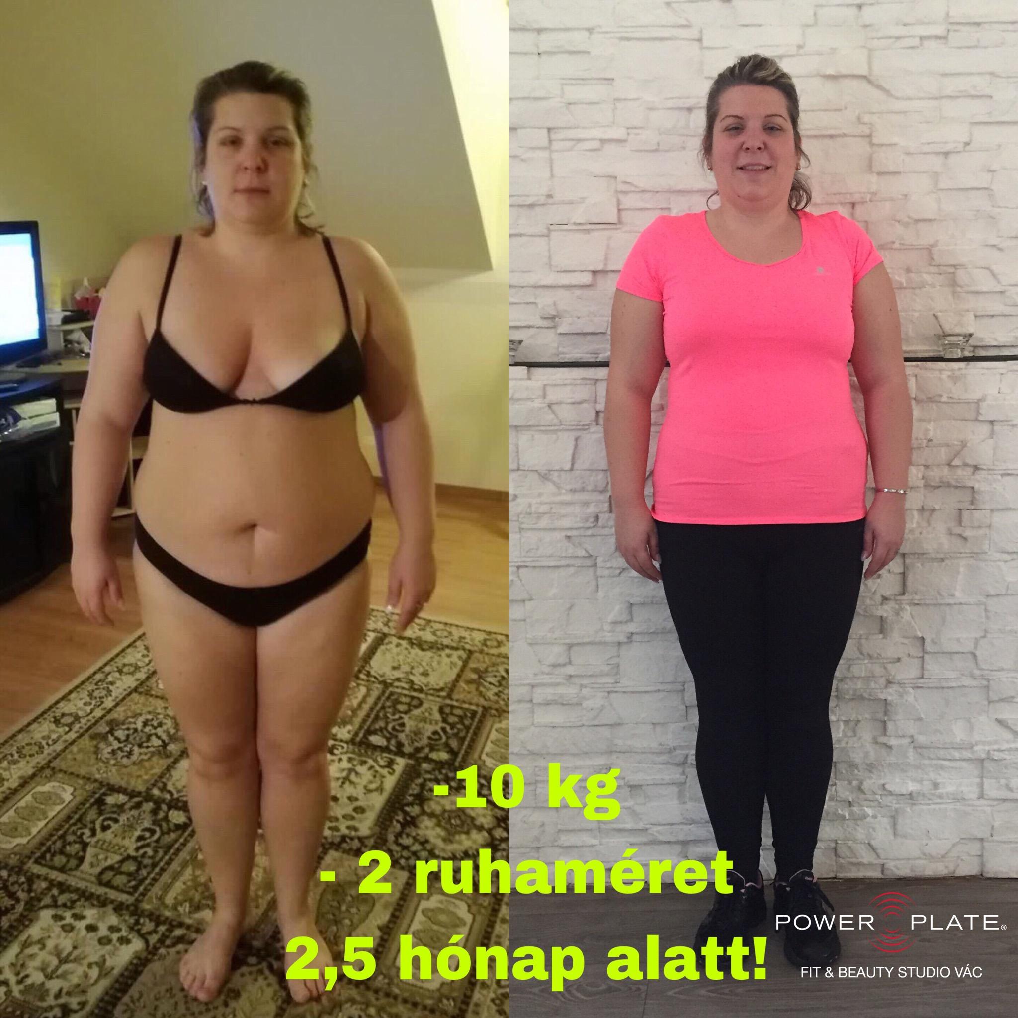 27 kiló fogyás