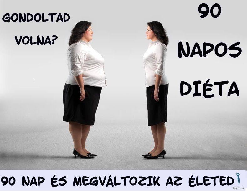 90 napos Életmódváltó diéta
